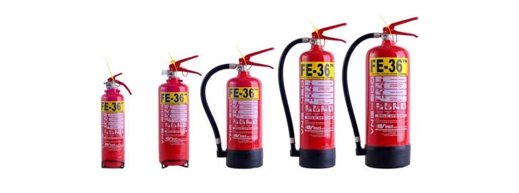 alat pemadam api ringan liquid gas clean agent VINCI FE-36