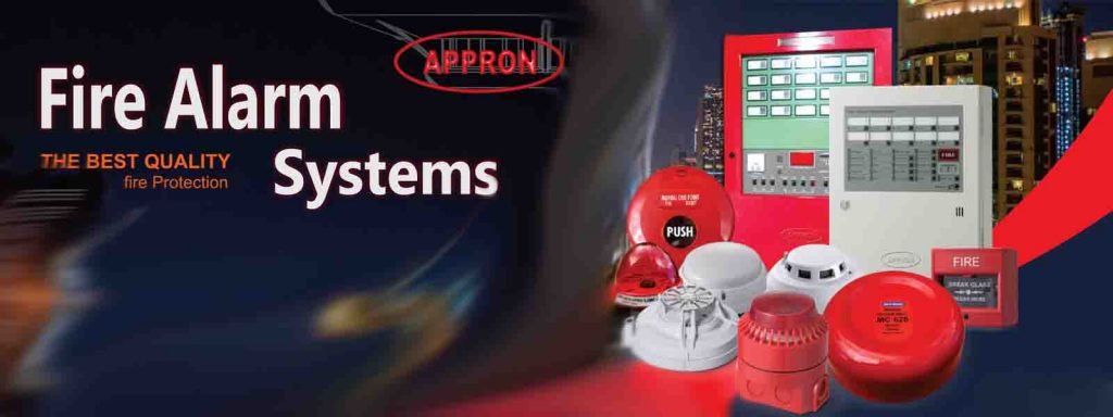 distributor fire alarm appron