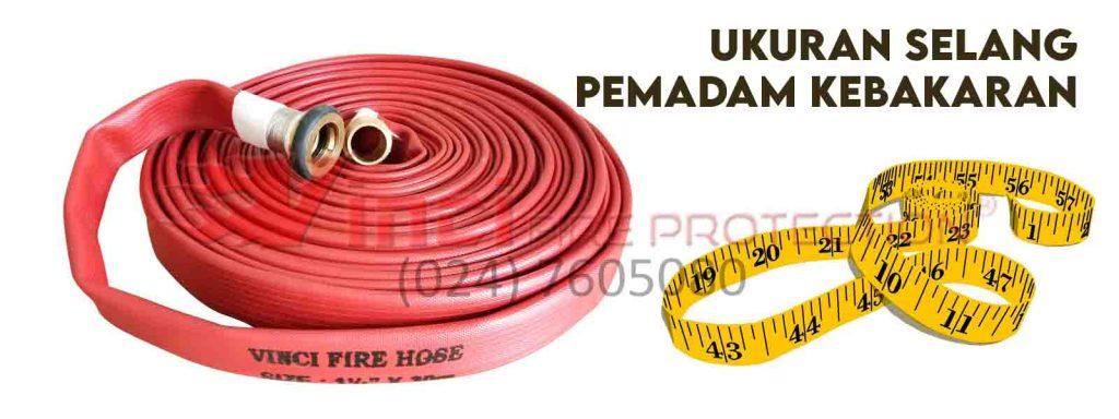 ukuran fire hose / selang pemadam kebakaran