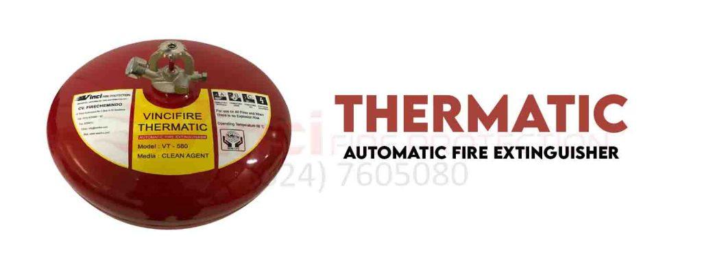 Alat Pemadam Api Otomatis Thermatic